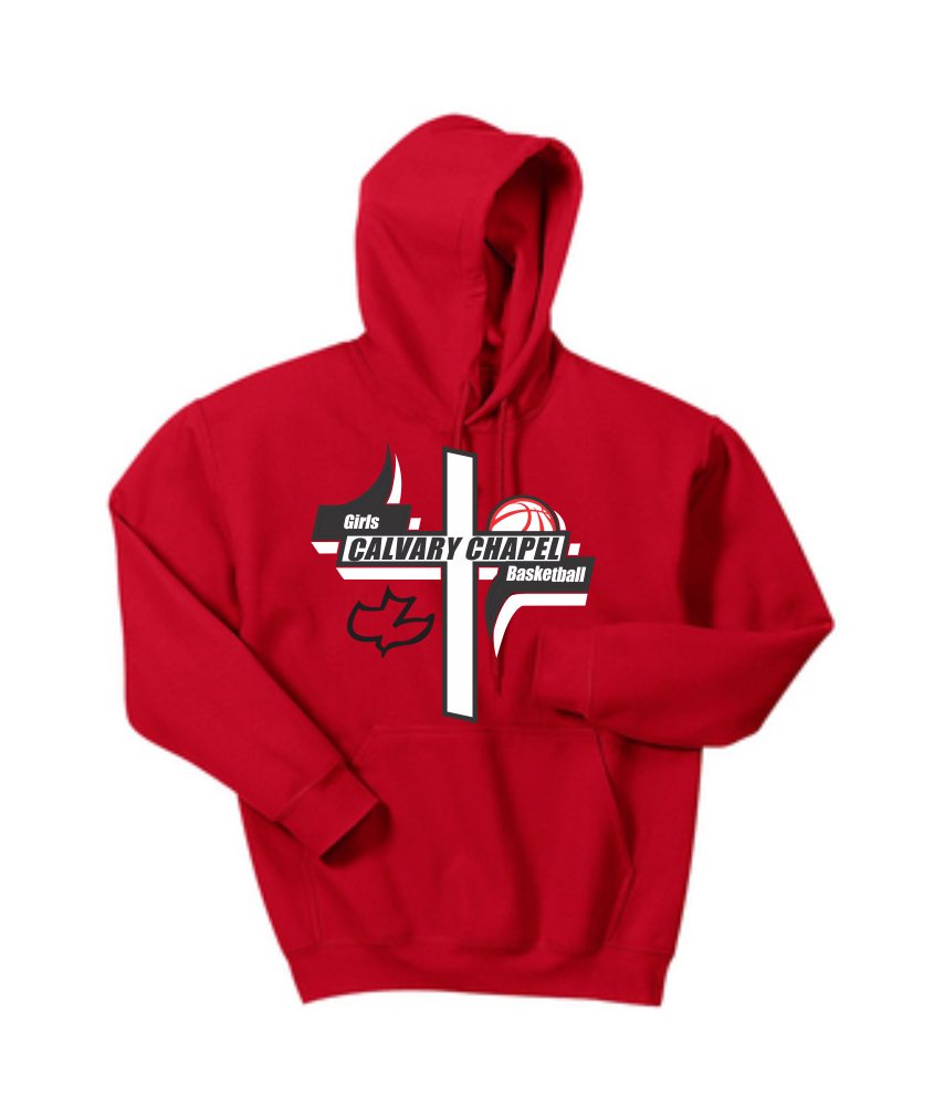 Calvary Chapel Girls Basketball Hooded Sweatshirt