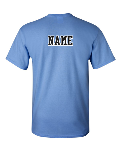 Add A name to Back Of Shirt