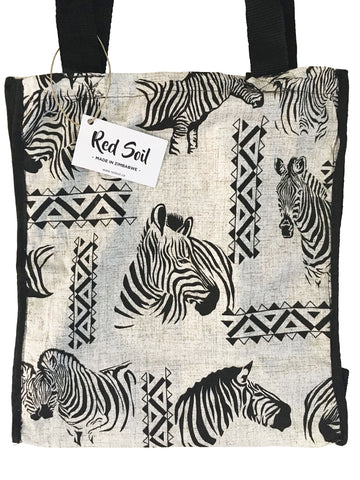 Zebra Fabric Bag