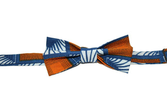 Blue & Orange Bow Tie