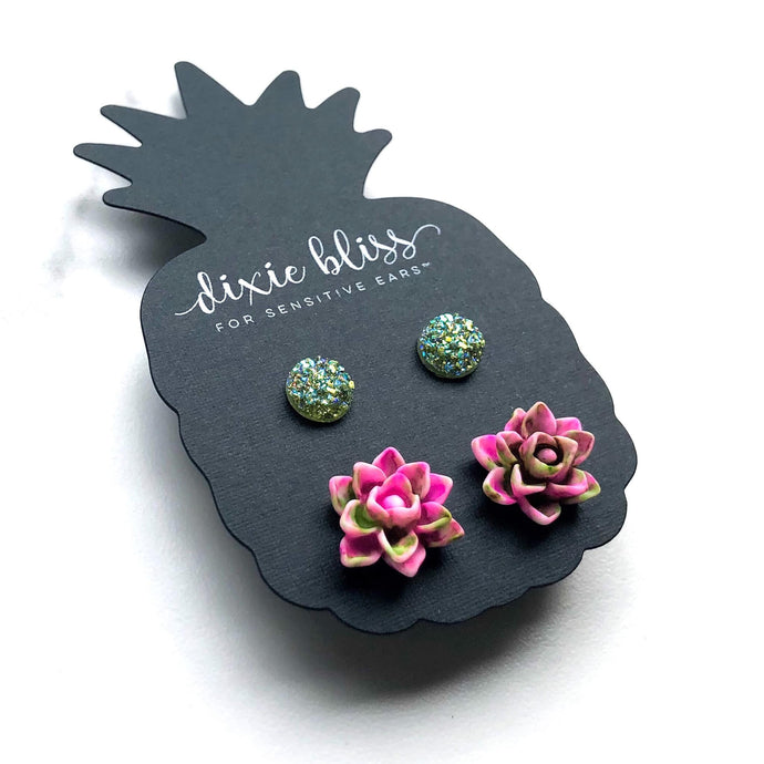 Dixie Bliss Duo Earrings