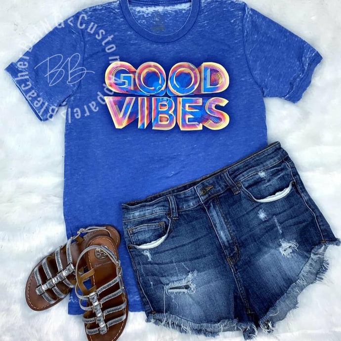 GOOD VIBES Graphic Tee