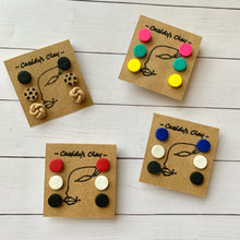 Cassidy's Clay Kids Triple Stud Pack Earrings