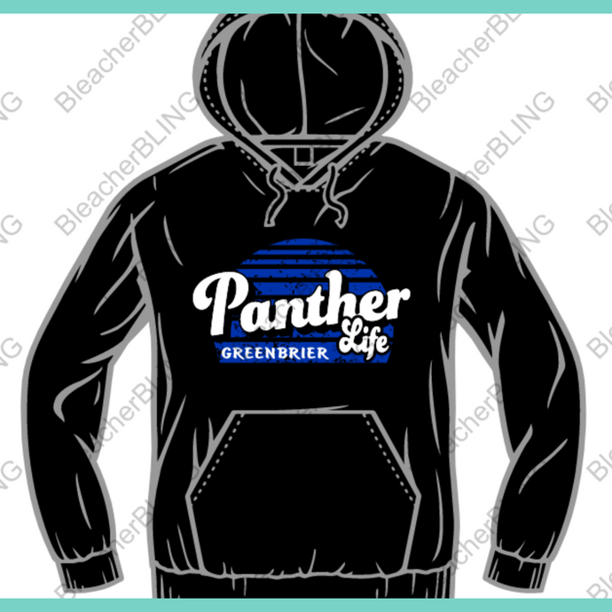 GJHS Panther Life Hoodie
