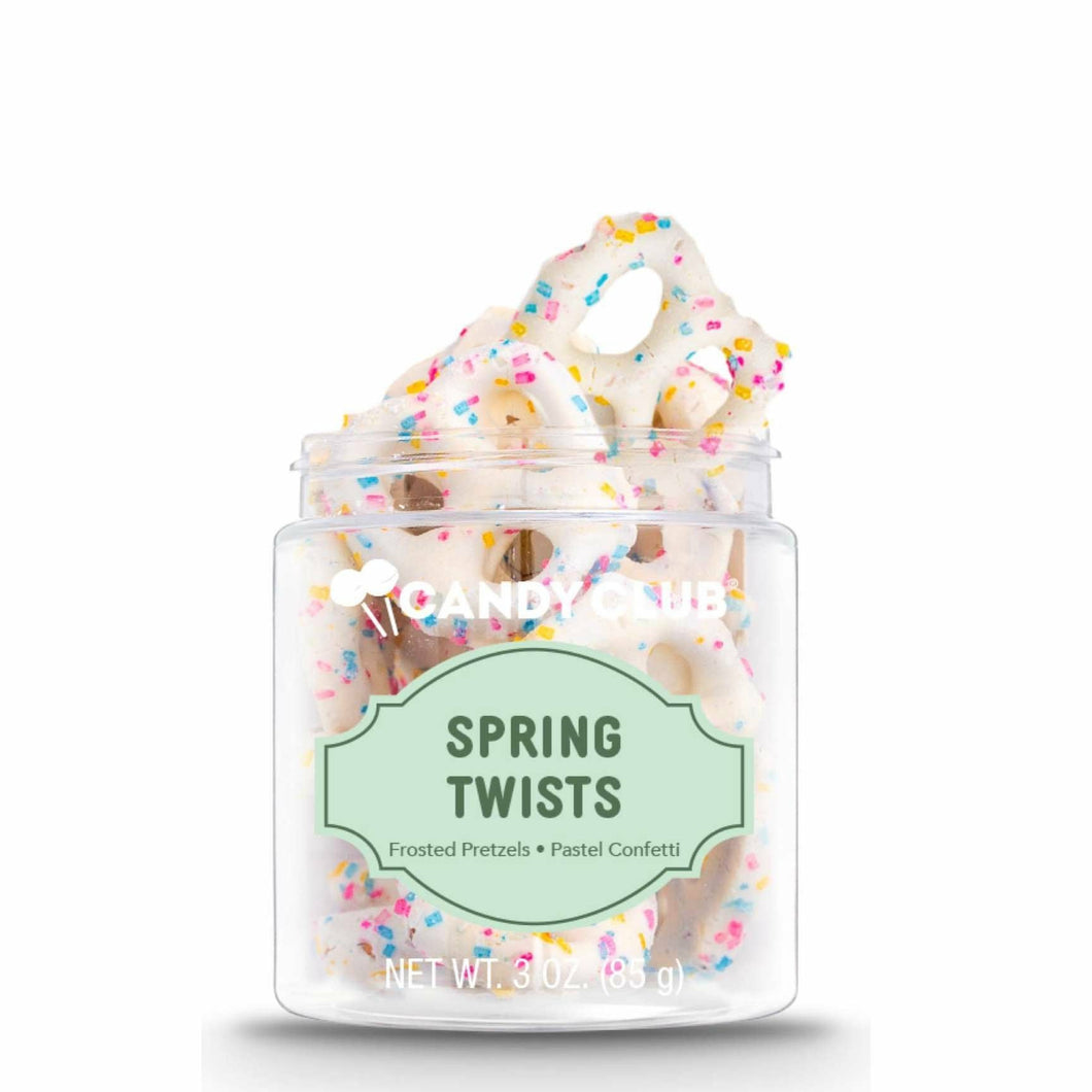 Candy Club Spring Pretzel Twists