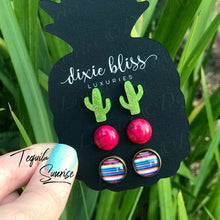 Dixie Bliss Trio Earrings