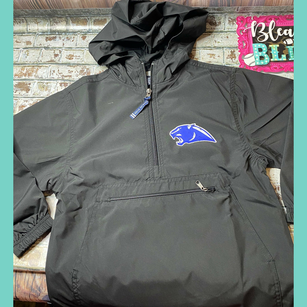 Panther Black Pack and Go Pullover