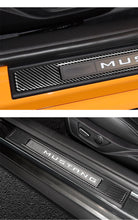 DynaCarbon™️ 2 PCS Carbon Fiber Inner Door Sills Trim For Ford Mustang 2005-2009