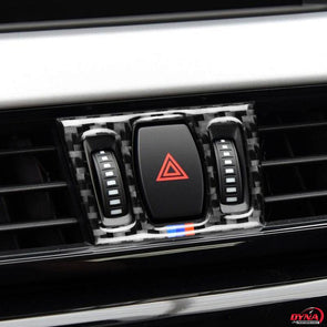 DynaCarbon™️ 5Pcs Carbon Fiber Air Conditioning Outlet Trim Overlay for BMW F48 X1 2016-2018