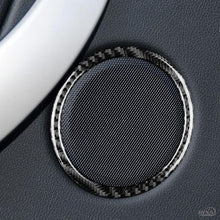 DynaCarbon™️ 4PCS Carbon Fiber Door Speakers Cover Trim Overlay for BMW F30 F32 3 Series 4 Series F34 3GT