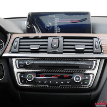 DynaCarbon™️ Carbon Fiber LHD Center Console Panel Trim Overlay for BMW F30 F32 F34 F80 F82