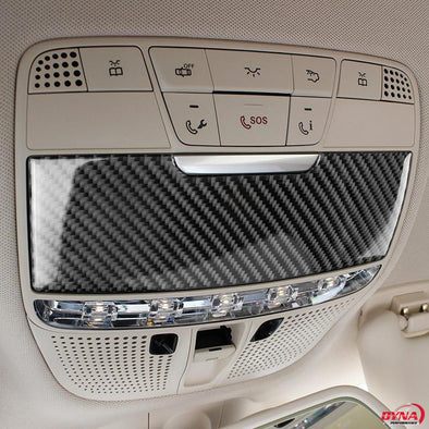 DynaCarbon™️ Carbon Fiber Light Panel Cover Trim Overlay for Mercedes Benz C Class W205 C180 C200 C300 GLC