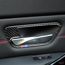 DynaCarbon™️ Full Set Carbon Fiber Full Set Door Handle Cover Trim Overlay for BMW F30 F32 F80 3 Series F34 3GT 4 Series