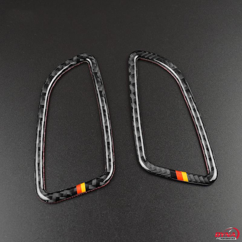 DynaCarbon™️ Carbon Fiber Air Conditioning Outlet Trim Overlay for Mercedes Benz C Class W205 C180 C200 C300 GLC