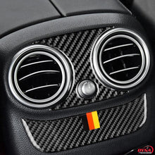 DynaCarbon™️ Carbon Fiber Rear Air Conditioning Outlet Trim Overlay for Mercedes Benz W205 C Class C180 C200 C300 GLC