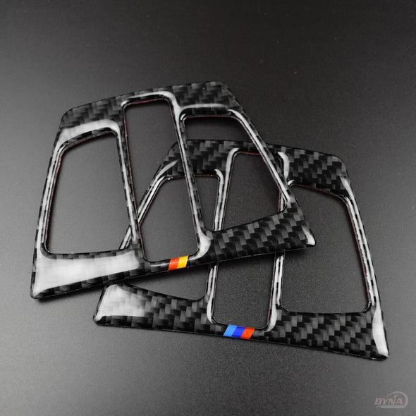 DynaCarbon™️ 2 PCS Full Set Carbon Fiber Dome Reading Light Frame Trim Overlay for BMW F20 F30 F34 F32 X1 F48 X5 F15 X6 F16