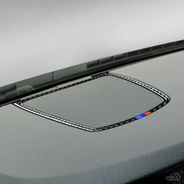 DynaCarbon™️ Carbon Fiber Dashboard Speaker Cover Trim for BMW F10 5 Series F07 GT