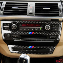 DynaCarbon™️ Carbon Fiber Center Console Frame Trim Overlay for BMW E70 X5 E71 X6 2008-2013
