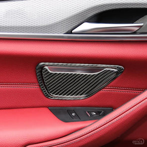 DynaCarbon™️ Carbon Fiber Door Ashtray Overlay for BMW G30