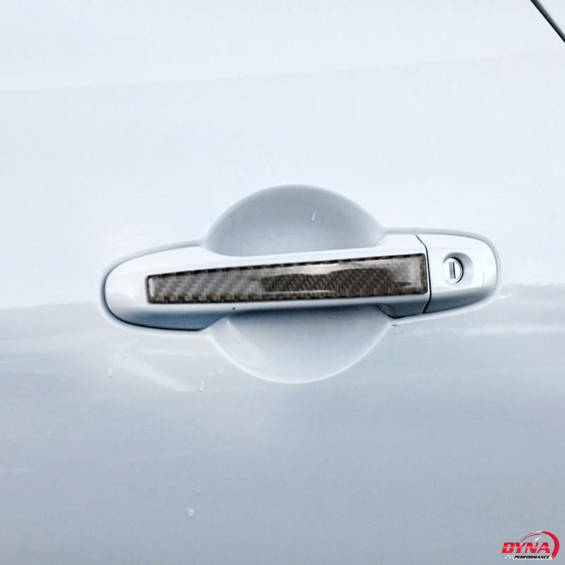 DynaCarbon™️ Carbon Fiber 2PCS Carbon Fiber Protective Door Handle Trim Overlay for BRZ/FRS/GT86
