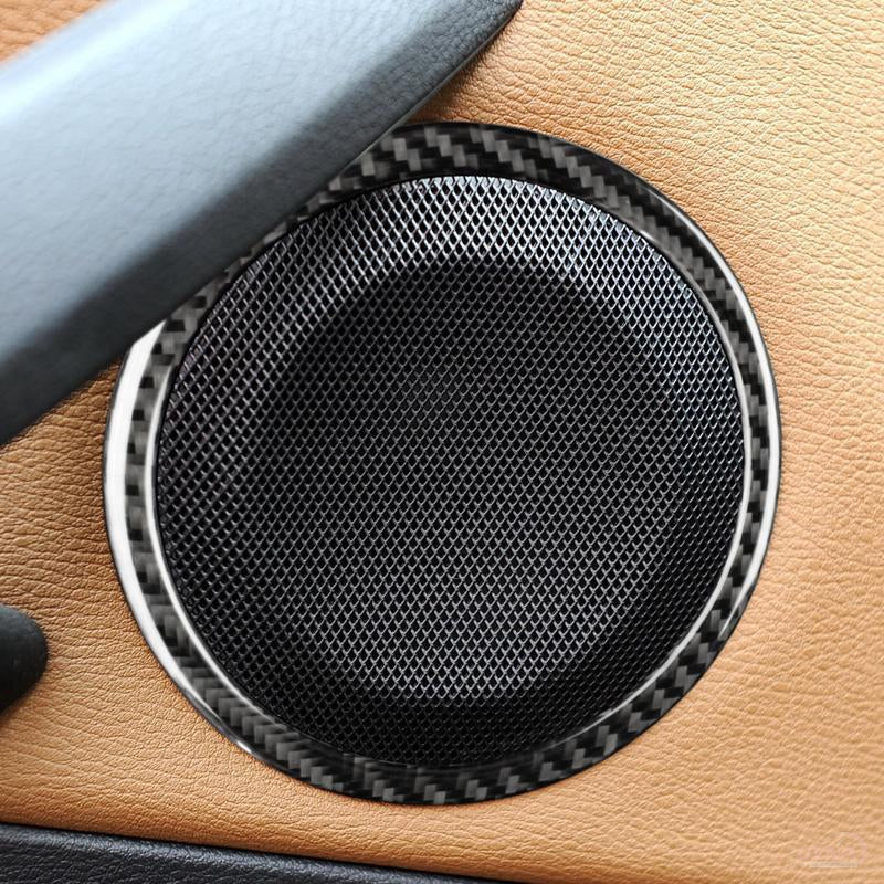 DynaCarbon™️ Carbon Fiber Full Kit Audio Speaker Trim for BMW E90 3 Series E84 X1
