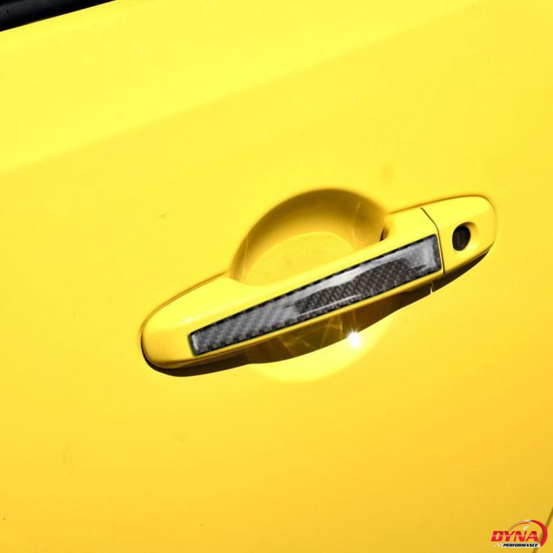 DynaCarbon™️ Carbon Fiber 2PCS Carbon Fiber Protective Door Handle Trim Overlay for FR-S 2013-2017