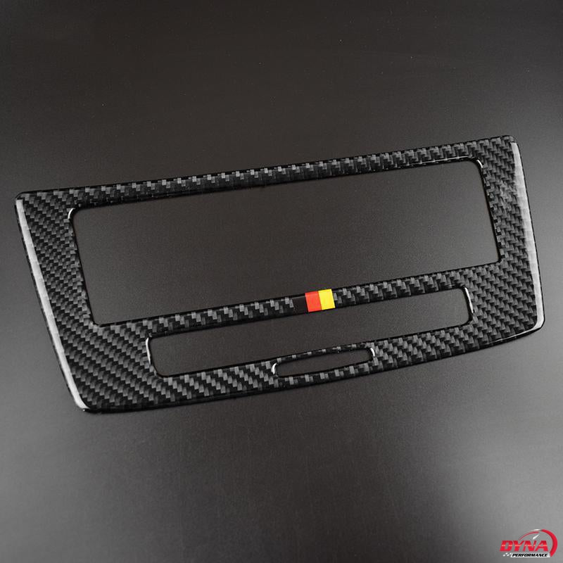 DynaCarbon™️ Carbon Fiber Center Console Panel Trim Overlay for Mercedes Benz GLE 2015-2018