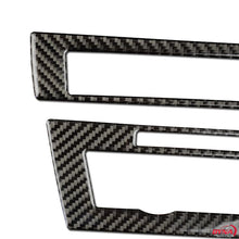 DynaCarbon™️ Carbon Fiber Center Control Frame Trim Overlay for BMW F10 5 Series