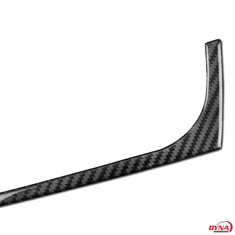 DynaCarbon™️ Carbon Fiber Console Panel Strip Trim Overlay for BMW F25 X3 F26 X4 2011-2016