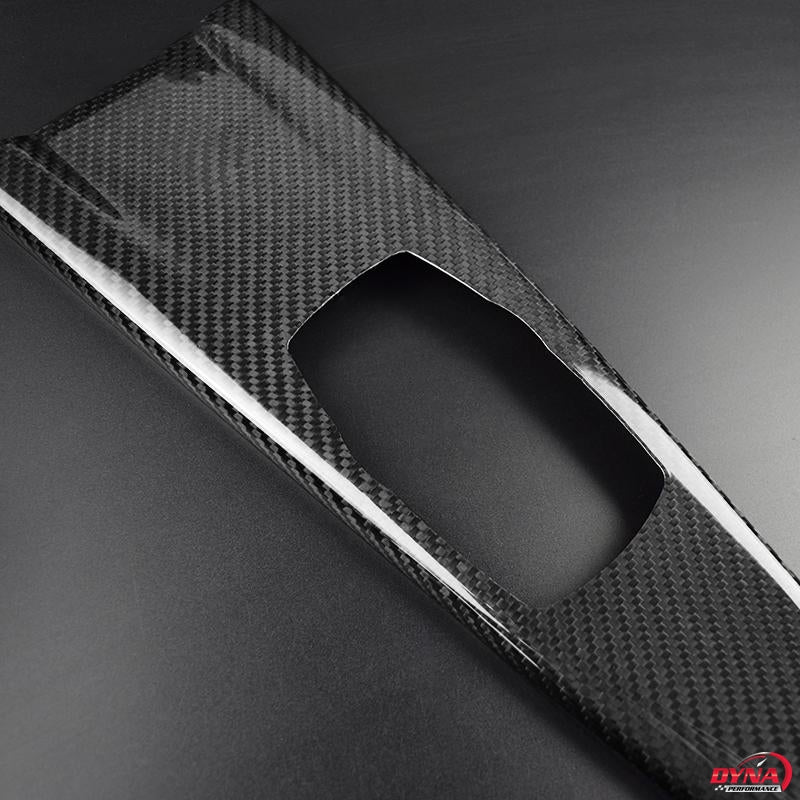DynaCarbon™ LHD Carbon Fiber Multimedia Panel Trim Overlay for BMW F30 F31 F32 F34 F34 F36
