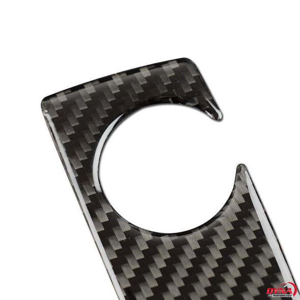 DynaCarbon™️ Carbon Fiber Gearshift Panel Trim For BMW 5 Series GT F07 F10 X3 X4 F25 F26