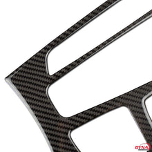 DynaCarbon™️ Carbon Fiber Center Console Frame Trim Overlay for BMW X5 F15 X6 F16 2014-2017