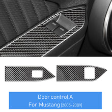 DynaCarbon™️ Carbon Fiber Window Control Switch (Style A) For Ford Mustang 2005-2009