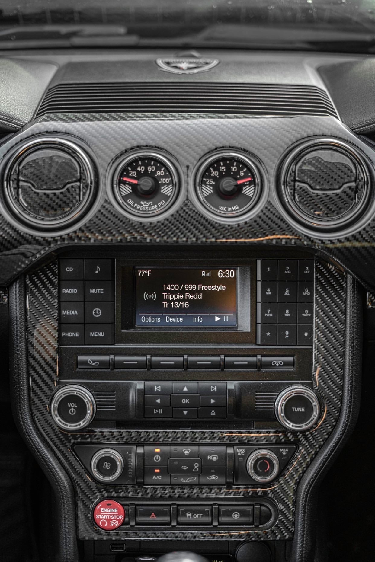 DynaCarbon™️ Full Dashboard Set for Ford Mustang 2015-2021