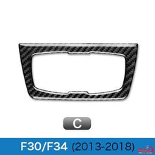 DynaCarbon™️ Carbon Fiber Car Headlight Switch Trim Overlay for BMW F22 F30 F32 F34 GT 3 Series 4 Series
