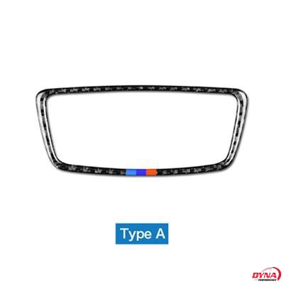 DynaCarbon™️ Carbon Fiber Headlight Control Trim for BMW F48 X1 2016-2018