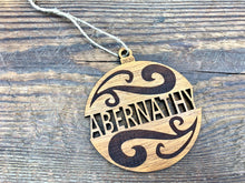 Wood Ornament Swirl Design