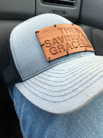 Wood Patch Hat- The Saving Grace