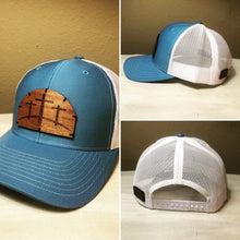 Wood Patch Hat- Triple Cross
