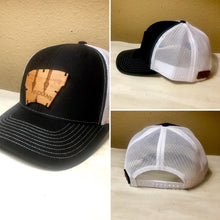 Wood Patch Hat- Custom Designed