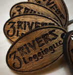 Wooden Key Chain- A Custom Design