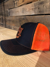 Wood Patch Hat- Auburn