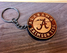 "Wooden Key Chain- Collegiate ""Troy"""
