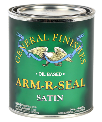 General Finishes, Arm-R-Seal Oil Based, Satin (Qt)