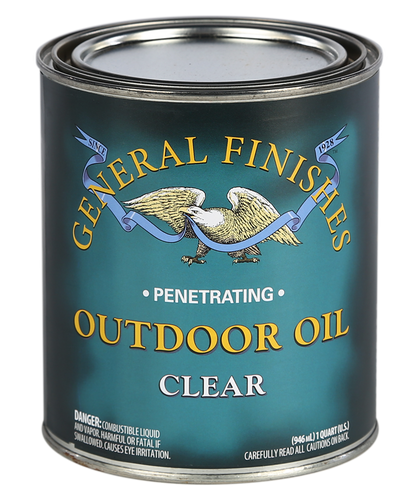General Finishes, Outdoor Oil-Clear (Qt)