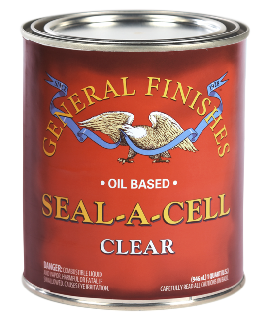 General Finishes, Seal-A-Cell, Clear (Qt)