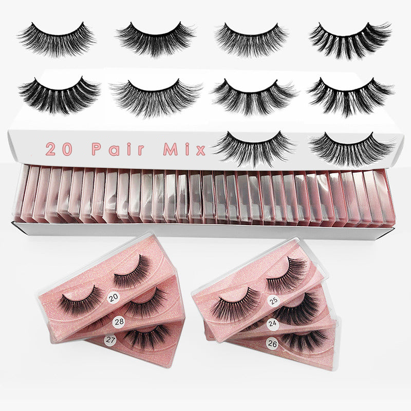 20 Natural Eyelashes