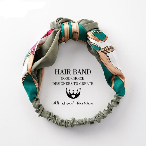 Knotted Hair Bands