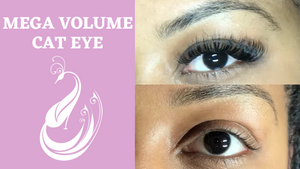 Mega Volume Cat Eye Eyelash Extensions Tutorial | Yegi Lashes