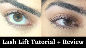PERMANIA Eyelash Lifting Perming Keratin Kit | Review + Tutorial